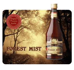 Forest Mist, whisky cream