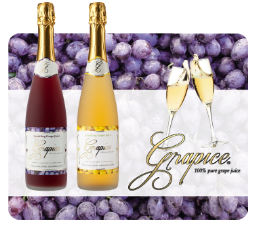 Grapice, sparkling grape juice