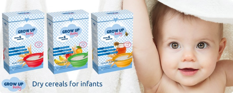 Grow Up baby, nutrición infantil