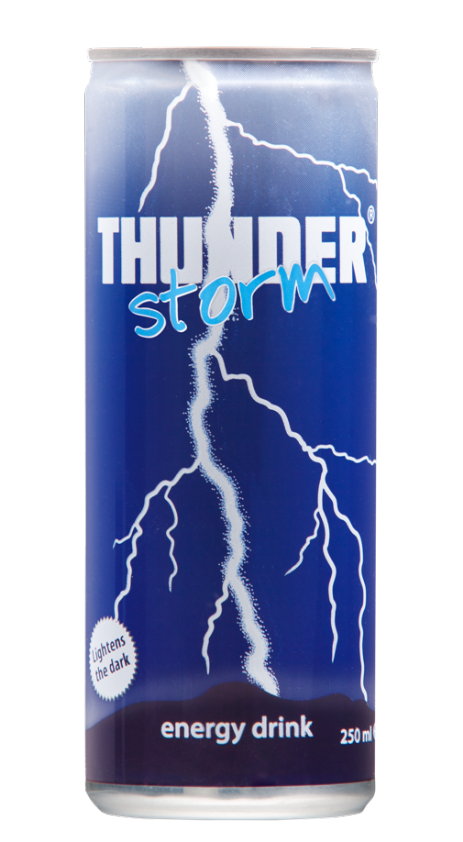 Thunderstorm energy drink